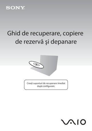 Sony VPCSB1S1E - VPCSB1S1E Guide de dépannage Roumain