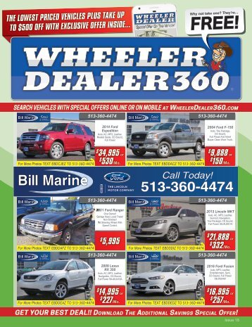 Wheeler Dealer Issue 18, 2017