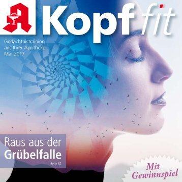 "Leseprobe ""Kopf-fit"" Mai 2017"