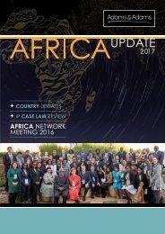 Adams & Adams AFRICA UPDATE 2017