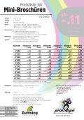 Mini-Broschüren - Zumsteg Druck AG - Seite 2