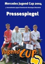 Sponsoren 2004 - Mercedes Jugend Cup