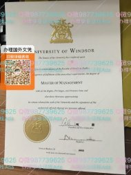 办理加拿大温莎大学毕业证 master's degree university of windsor diploma