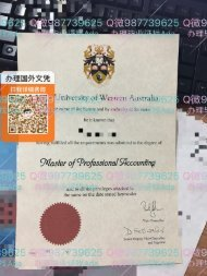 西澳大学毕业证Q微987739625 UWA diploma master degree official transcript