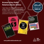 Browse & Buy Public Relations Books Online