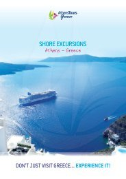 Shore Excursions in Athens Greece