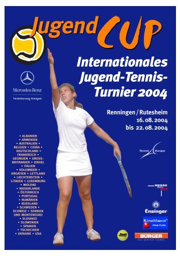 Internationales Jugend-Tennis- Turnier 2004 - Mercedes Jugend Cup