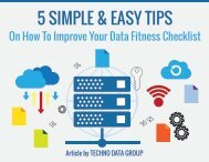 5 SIMPLE & EASY TIPS On How To Improve Your Data Fitness Checklist