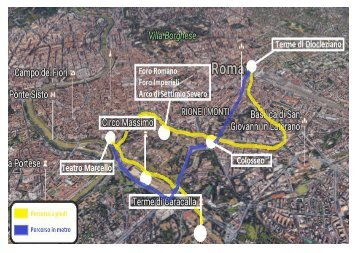 Cartina di Roma