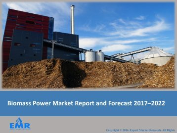 Biomass Power Generation Market Report 2017-2022