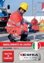 CATALOGO COFRA WORKWEAR