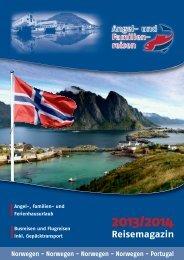 Reisemagazin - Angelreisen und Familienreisen in Norwegen