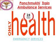 Get Affordable Train Ambulance Services