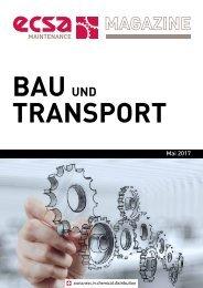 ECSA Maintenance MAGAZINE - Bau und Transport_Mai 2017