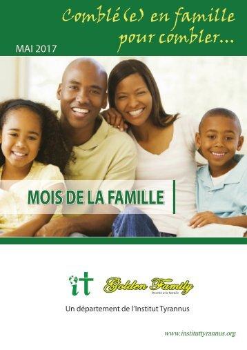 carnet mois famille 2017