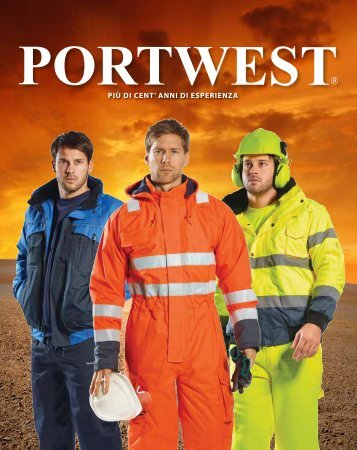 CATALOGO PORTWEST