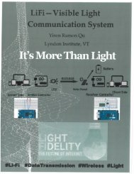 Li-Fi Visible light communication Brochure