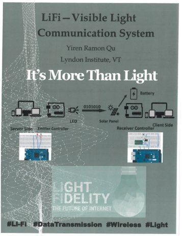 Li-Fi Visible light communication Brochure