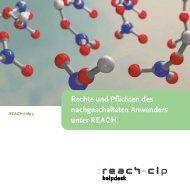 REACH-Info 5 - Bundesanstalt für Arbeitsschutz und Arbeitsmedizin
