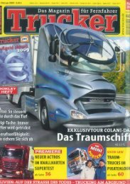 02/2009 Trucker: Spaceship on the highway - mm-Promotion