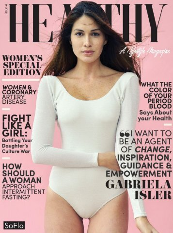 Healthy SoFLo Issue 48 - Women's Special Edition: Gabriela Isler