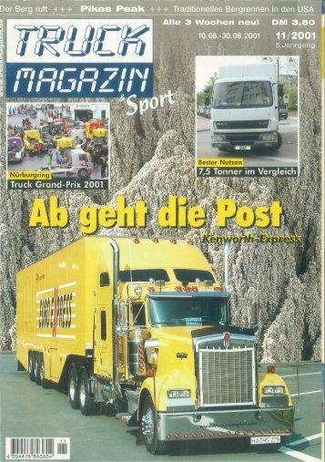 11/2001 Truck Magazin