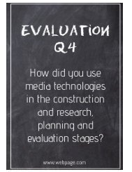 Question 4 Poster Book