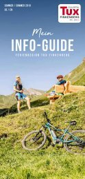 Info-Guide Sommer 2018