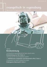 thema: Kirchen- leitung - Evangelisch in Regensburg