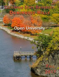 Fall 2017 Open University Schedule Interactive