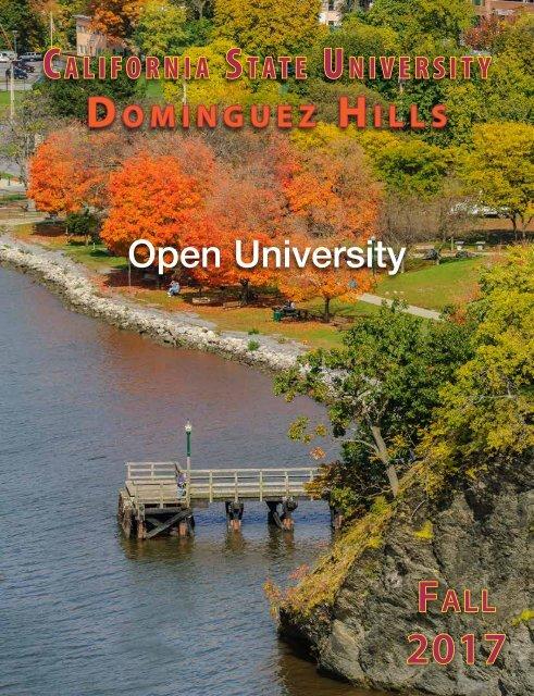Fall 2017 Open University Schedule Interactive