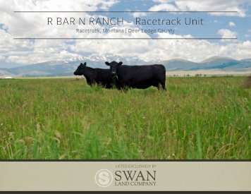 R Bar N Ranch Racetrack Unit Revised Offering Brochure and Maps