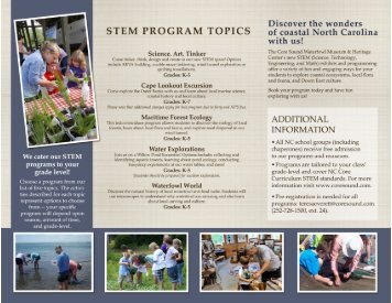 CSWM STEM Information Brochure