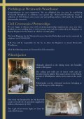Wentworth Woodhouse Wedding Brochure - Page 3
