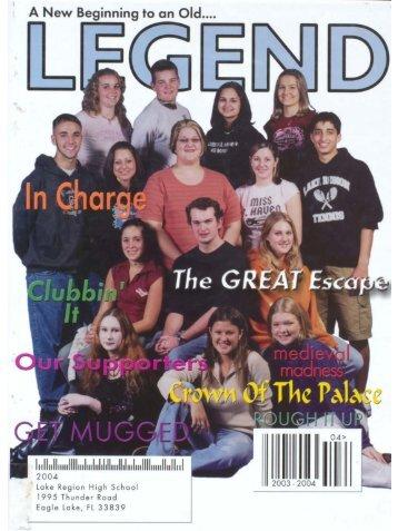 Lake Region High School 2004