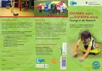 BAMBINI mini und BAMBINI maxi - Mobilspiel eV