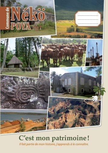 C'est mon patrimoine,  la commune de Poya