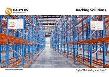 Alpha Racking Brochure