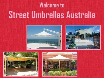 Custom Fabric Structures at Street Umbrellas Australia