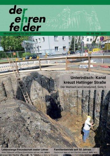 Der Ehrenfelder 89 – Mai 2017
