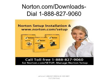 Norton.comDownloads- 1-888-827-9060 - Norton Download