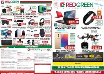 catalogo redgreen ofertas hasta el 2 de Junio 2017