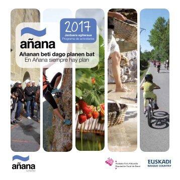 En Añana siempre hay plan. Toda la información en www.ananaturismo.com