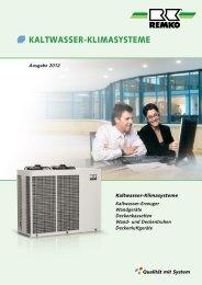 REMKO Kaltwasser-Klimasysteme 2012