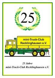 festzeitung bearbeitet 2 2011 - Mini-Truck-Club Recklinghausen e.V.