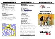 Jugendwerkstatt Maler - AWO Kreisverband Nürnberg e. V.