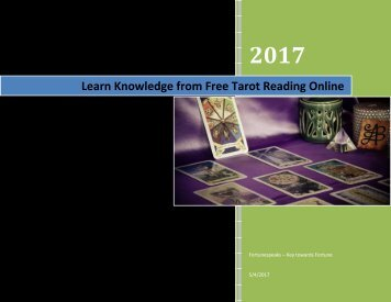 Learn Knowledge from Free Tarot Reading Online
