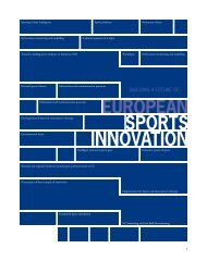 SPORTS INNOVATIONN EUROPEAN - EPSI