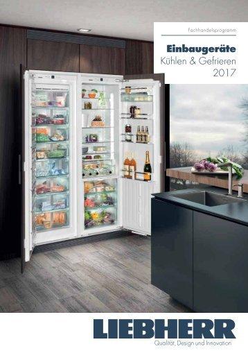 Liebherr Einbaugeräte Kühlen & Gefrieren 2017