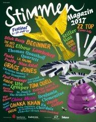 STIMMEN 2017 Programmheft